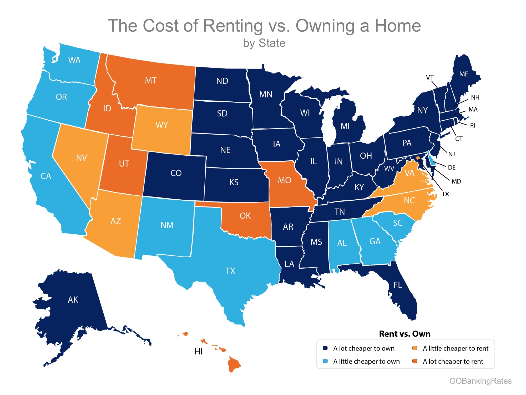 renting vs. owning map