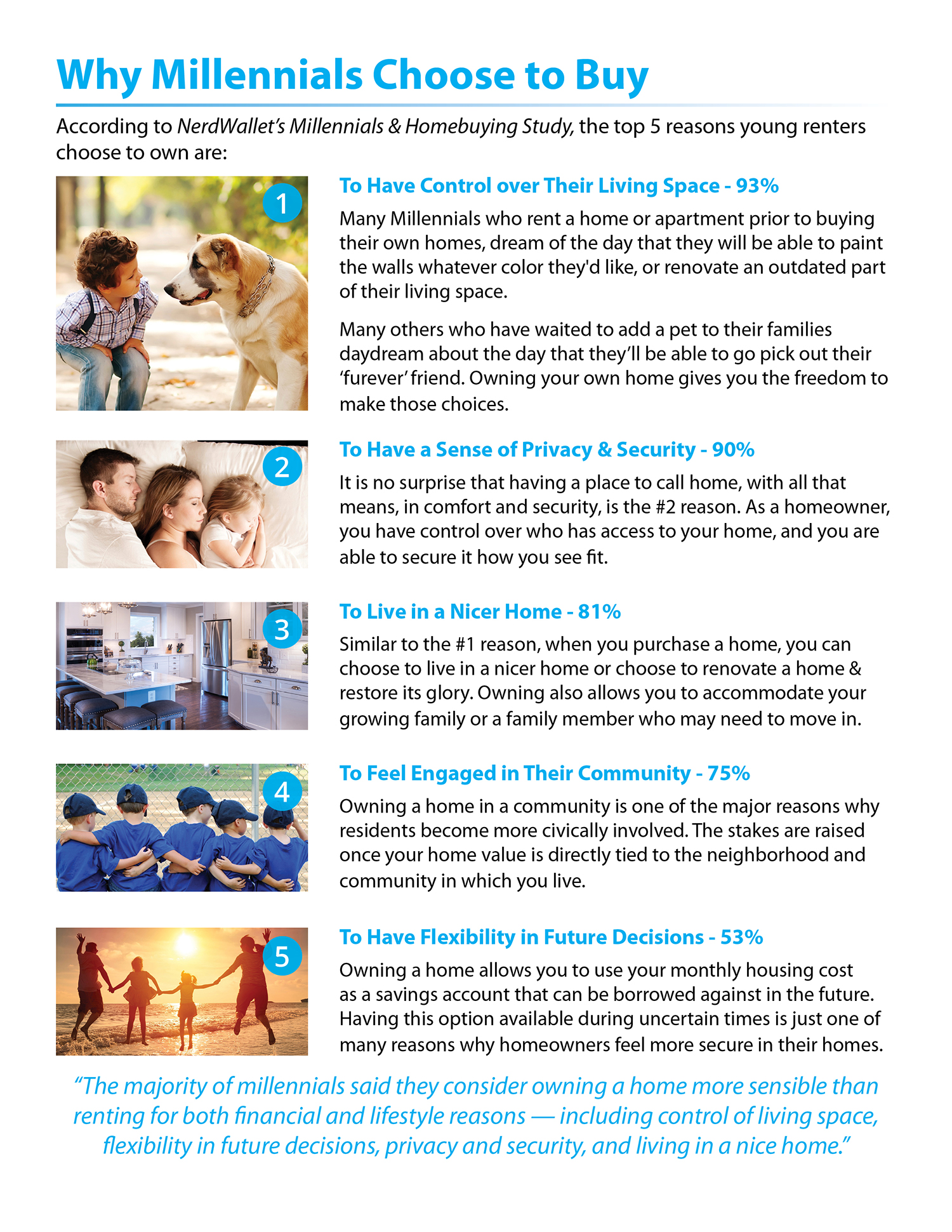 Top 5 Reasons Why Millennials Choose to Buy [INFOGRAPHIC] | Simplifying The Market